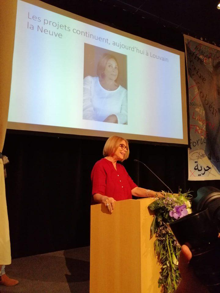 Periodista chilena Marcia Scantlebury gana importante premio en Bélgica
