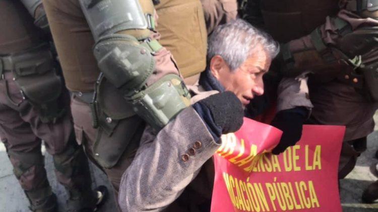 Mario Aguilar detenido