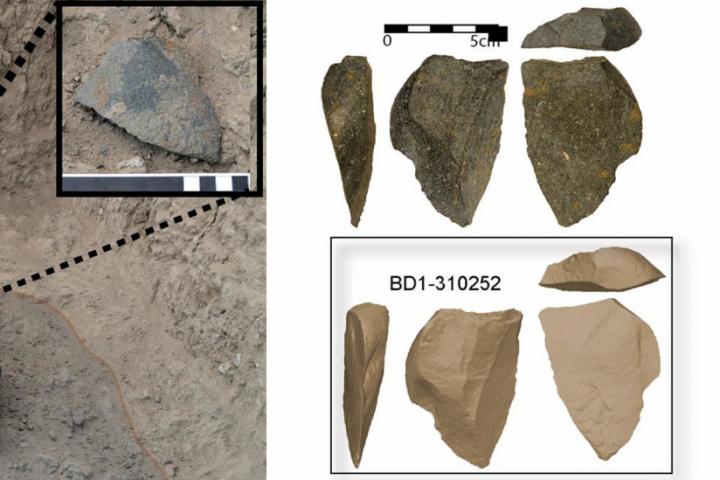 Los antepasados humanos inventaron herramientas de piedra en diversas ocasiones