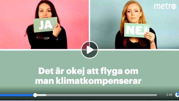 In Svezia il risparmio di CO2 fa tendenza: ora c'è la flygskam, la vergogna di volare