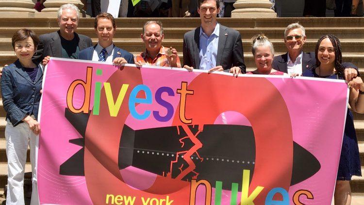 La ville de New York se mobilise pour se débarrasser des armes nucléaires et les interdire