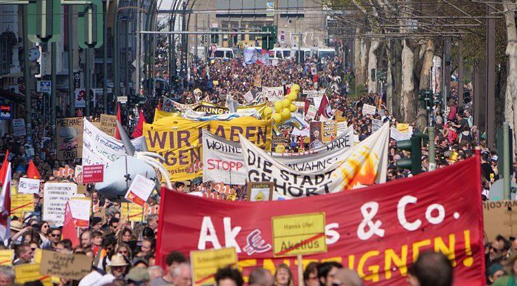 """Neue soziale Bewegung gegen """"Mietenwahn"""""""