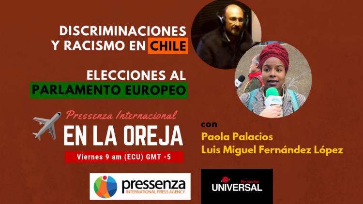 discriminaciones Chile elecciones europeas paola palacios luis miguel fernandez lopez