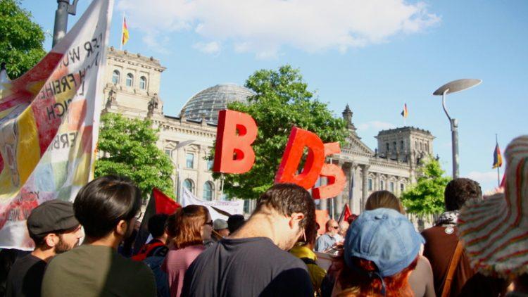 Protesta BDS Berlino