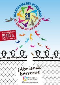 Madrid: 'El abrazo de los pueblos'