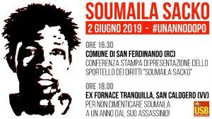 Il 2 giugno 2018 l'omicidio di Soumaila Sacko: le iniziative USB per ricordare il delegato sindacale assassinato