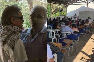 Santrich visita La Guajira colombiana y clama por la paz