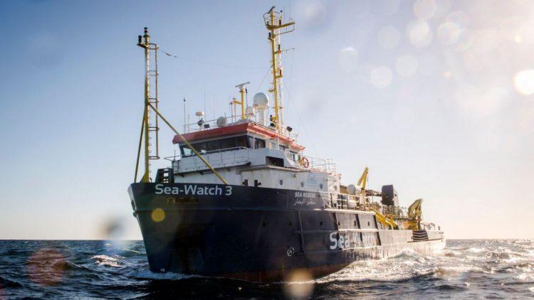 Humanitäre Notlage auf der Sea Watch 3, es wurde ein Rechtshilfefond eingerichtet