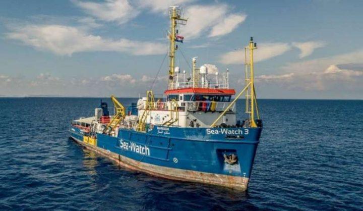 Lampedusa solidale con i passeggeri della SeaWatch3