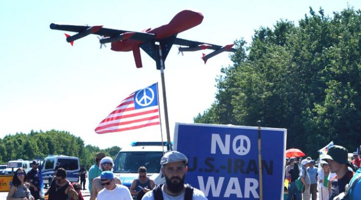 Demonstration against Ramstein Air Base creates more and more awareness