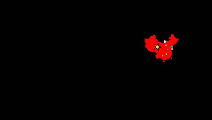 China klein halten