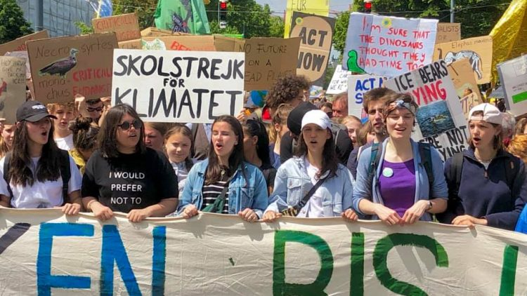 """Greta Thunberg a Vienna: """"L'emergenza climatica è la più grande crisi che l'umanità abbia mai affrontato"""""""