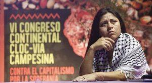 Deolinda Carrizo dialogó con FCINA sobre el VII Congreso de la CLOC-Vía Campesina en Cuba