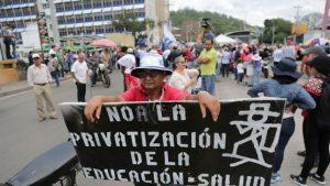Honduras: Fuori J.O. Hernandez! Il grido unanime del popolo