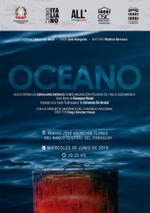 """Paraguay: prima mondiale dell'opera lirica """"Oceano"""", sulle migrazioni italiane in Sud America"""