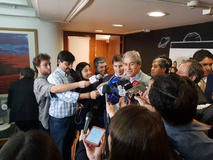 «Somos quijotescos pero pedimos cosas reales», Mario Aguilar, Presidente del Colegio de Profesores de Chile