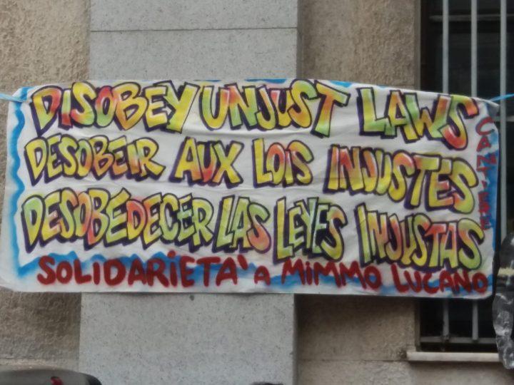 Al via il processo a Mimmo Lucano. Presidi di solidarietà in tutta Italia