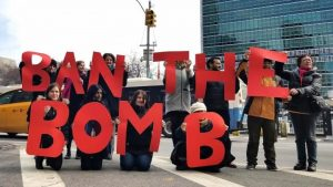 Lettera di IALANA a Conte sul Trattato di Proibizione delle armi nucleari