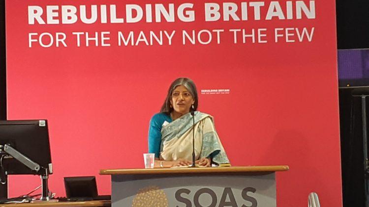 Jayati Ghosh, Professor of Economics, Jawaharlal Nehru University, speaking at the Labour Party's International Social Forum, July 13, 2019