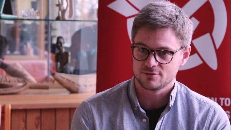 Daniel Högsta, International Campaign to Abolish Nuclear Weapons, interview for The Beginning of the End of Nuclear Weapons, December 12, 2018, Geneva, Switzerland