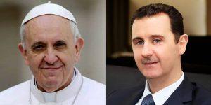 Bergoglio, Assad e un lettera che archivia la sinfonia