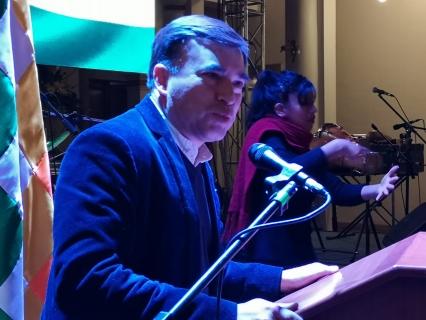 [Bolivia] Quintana: Debemos persistir en nuestra lucha tenaz frente al imperio que cada día está más irracional
