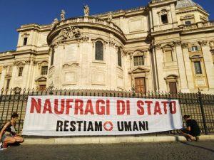 """Comunicato della Rete Restiamo Umani: il 15 luglio a Montecitorio per dire no al Decreto Sicurezza Bis """"un provvedimento pericoloso che va fermato"""""""