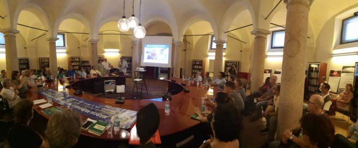 """Milano, prima italiana del documentario """"L'inizio della fine delle armi nucleari"""".  Proposte e impegni per istituzioni e società civile"""