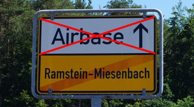 Nein zu Militärstützpunkten und Kriegen