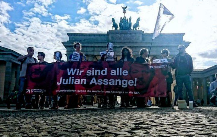 Aufruf für eine weltweite Kampagne gegen die Auslieferung von Julian Assange
