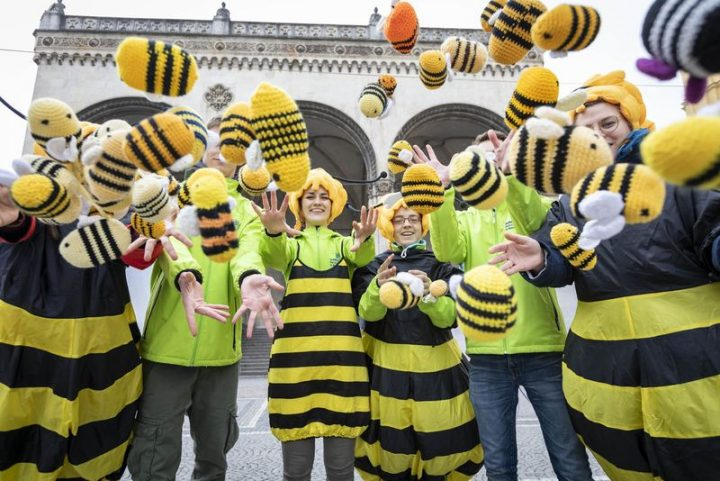 Während Bayern das Volksbegehren Artenvielfalt als Gesetz annimmt, haben die EU-Ländern den Schhutz von Bienen und Insekten in einer skandalösen Abstimmung geschwächt.