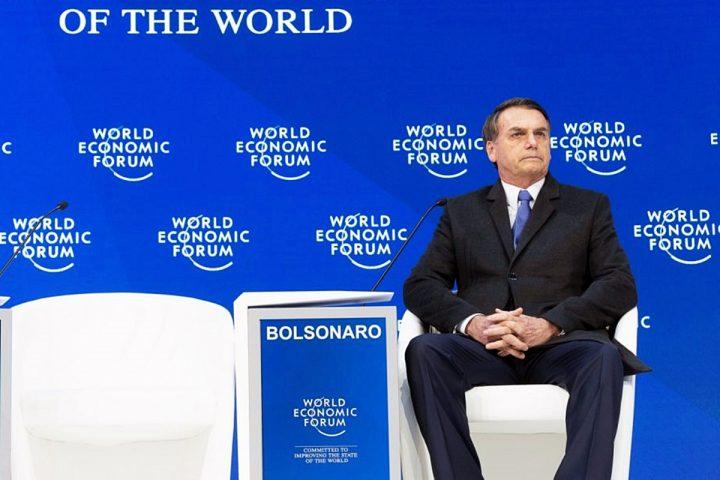 Bolsonaro a Davos