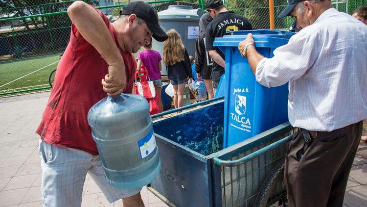 Cile, approvigionamento acqua potabile