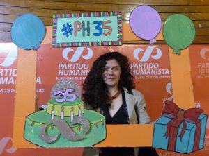 «Siempre llega el tiempo en el que las cadenas mentales se rompen y entonces se abre un momento social humanista», Catalina Valenzuela, Presidenta PH de Chile