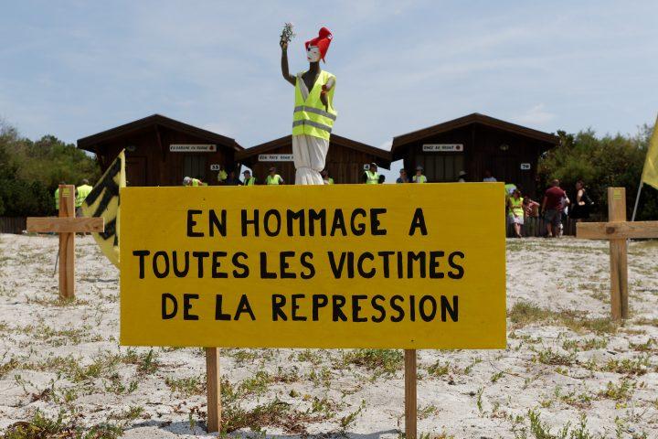 Chalecos Amarillos: Memorial para las víctimas