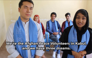 En Afganistán, tenemos tres sueños