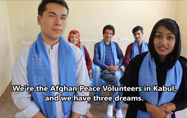 In Afghanistan, We Have Three Dreams