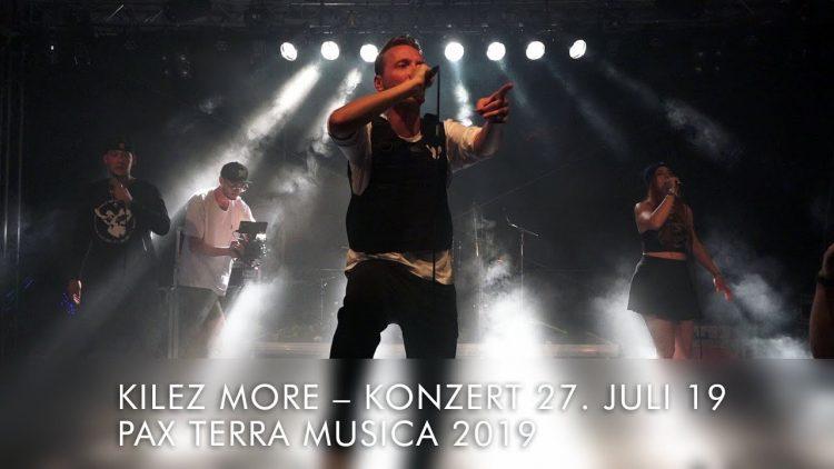Kilez More - Voice of Peace am Pax Terra Musica Friedensfestival