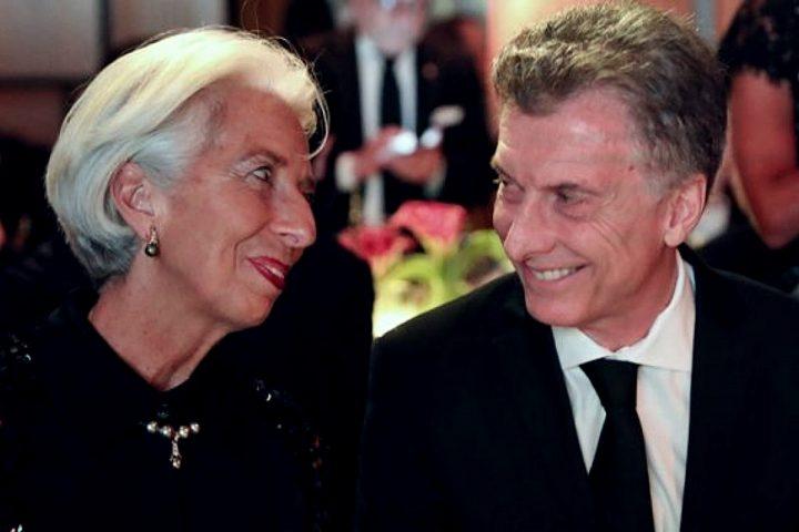 Mauricio Macri e Christine Lagarde
