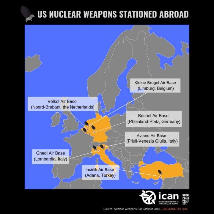 NATO bestätigt versehentlich Atomwaffen in Europa