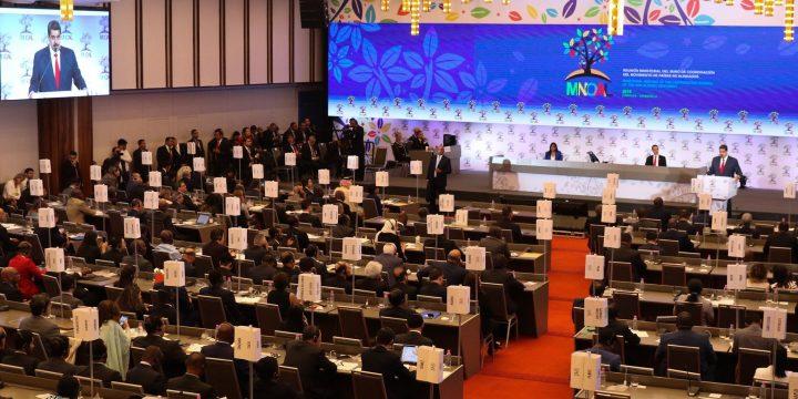 Más de 100 países del MNOAL en Caracas, en defensa del mutilateralismo y la autodeterminación de los pueblos
