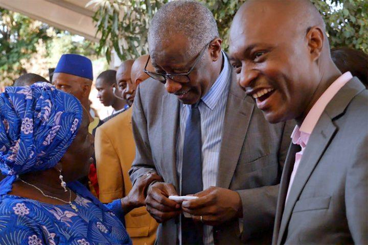 Encuentro con Sansy Kaba Diakite de la editorial Harmattan Guinea