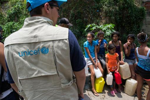 UNICEF/Venezuela: più di 2,8 milioni di persone avranno accesso ad acqua potabile sicura