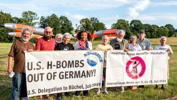 Büchel: US-Atombomben raus aus Deutschland