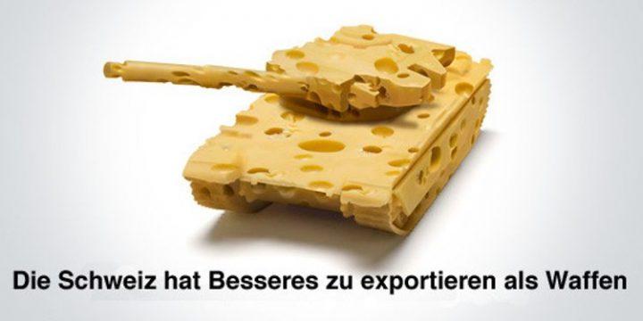 Waffenexporte aus der Schweiz erneut gestiegen