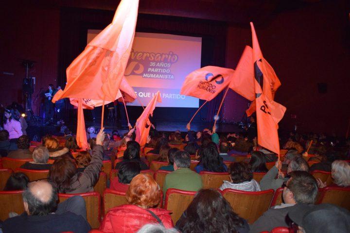 35 años del Partido Humanista chileno