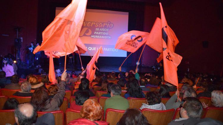 35 ans du Parti Humaniste Chilien