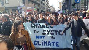 Cambiare il clima o cambiare il sistema?
