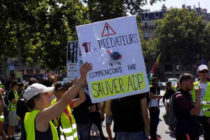 Chalecos Amarillos realizan en Francia nueva movilización (+Fotos)