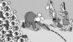 círculo vicioso da concentração da riqueza